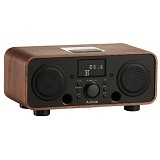 AULUXE New Breeze Wood [AW3021W] - Black - Speaker Bluetooth & Wireless